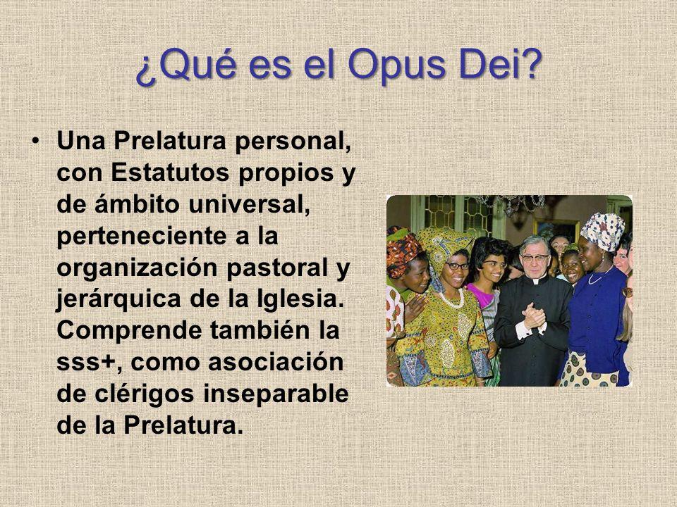 ¿Qué es el Opus Dei