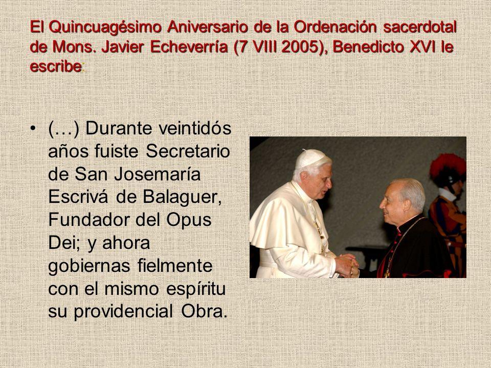 El Quincuagésimo Aniversario de la Ordenación sacerdotal de Mons
