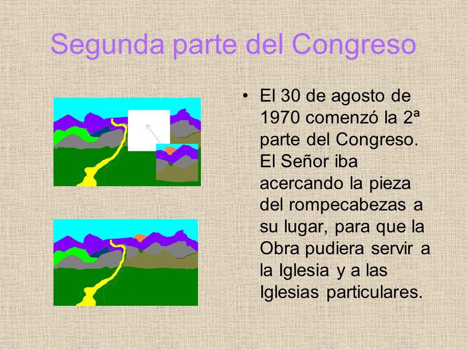 Segunda parte del Congreso