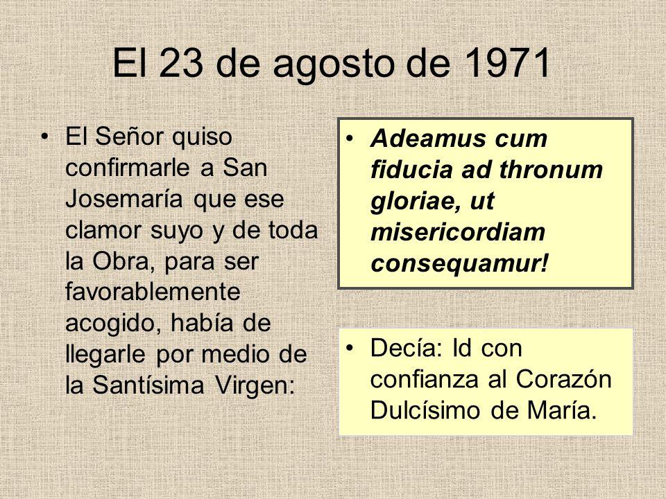 El 23 de agosto de 1971