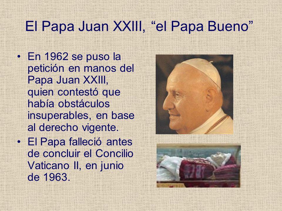 El Papa Juan XXIII, el Papa Bueno