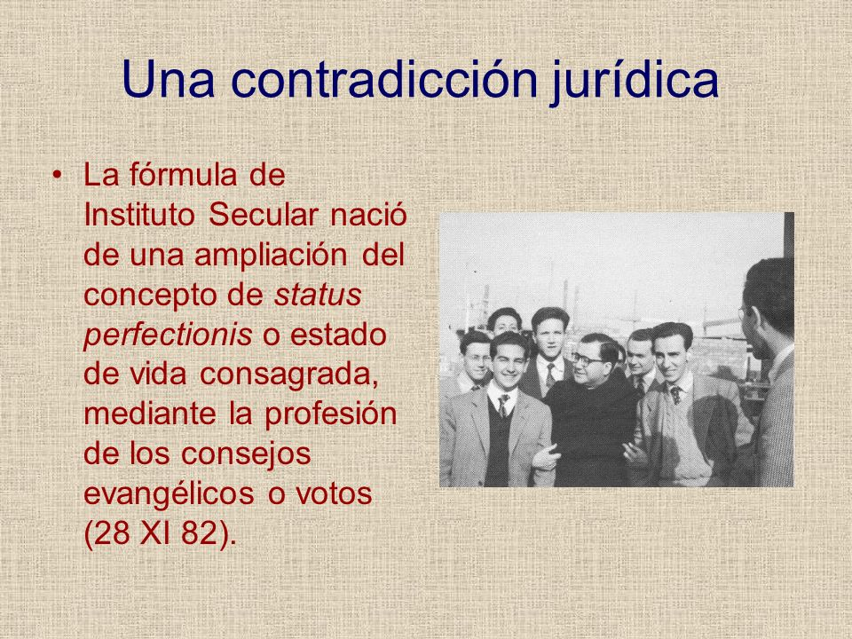 Una contradicción jurídica