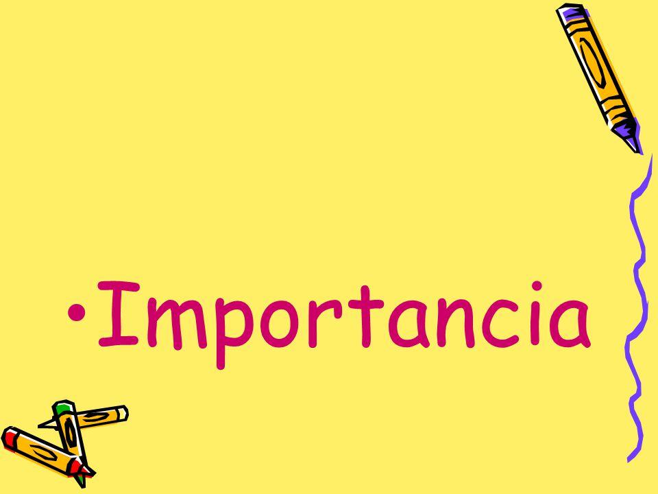 Importancia