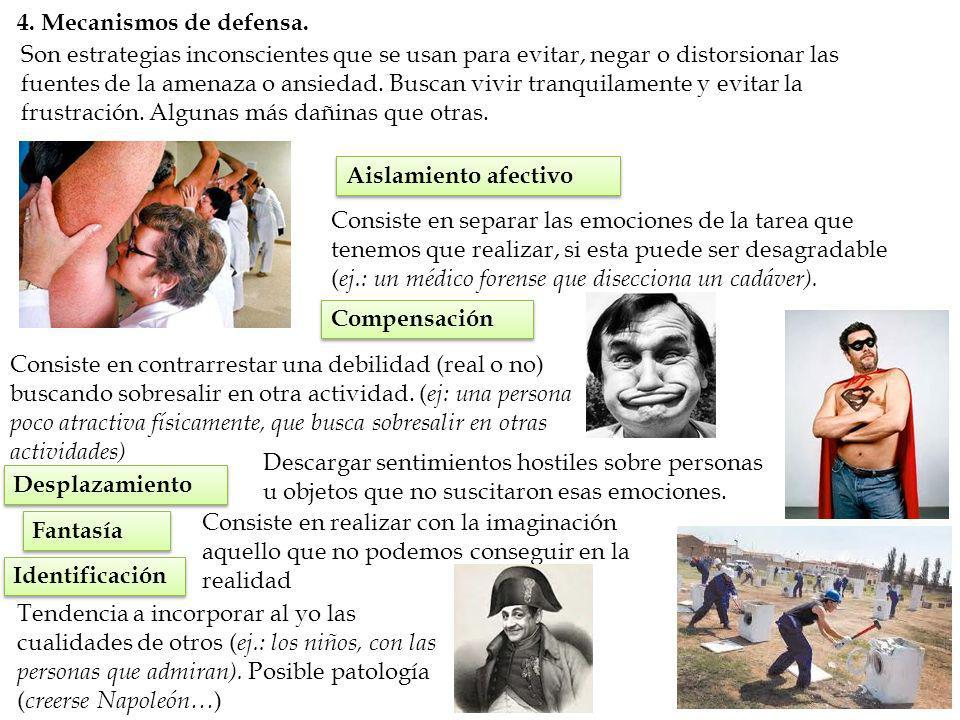4. Mecanismos de defensa.