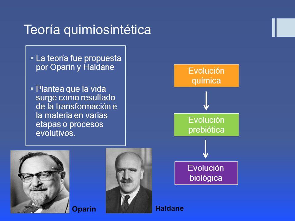 Teoría quimiosintética
