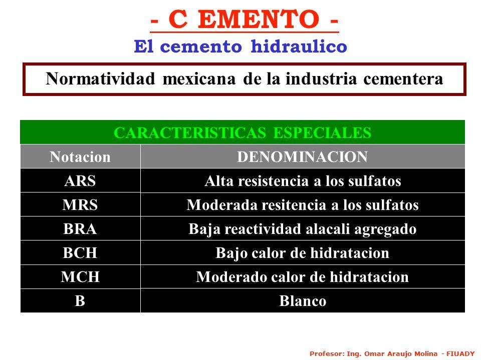 - C EMENTO - El cemento hidraulico