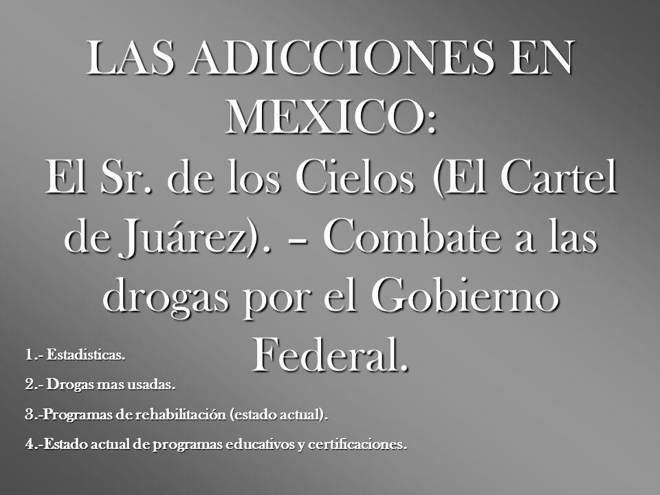 LAS ADICCIONES EN MEXICO: El Sr. de los Cielos (El Cartel de Juárez)