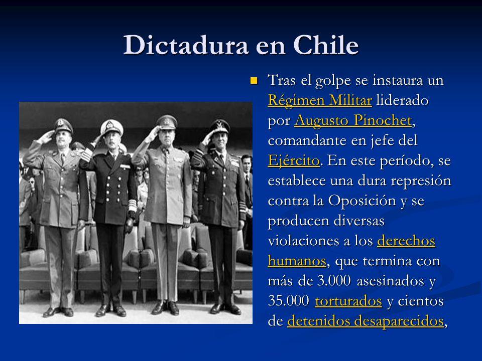 Dictadura en Chile