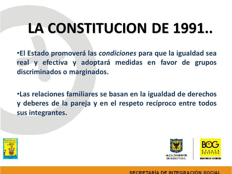 LA CONSTITUCION DE 1991..