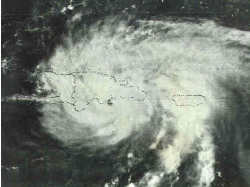 El huracán David.