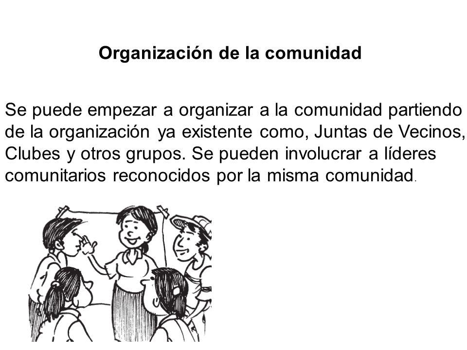Organización de la comunidad