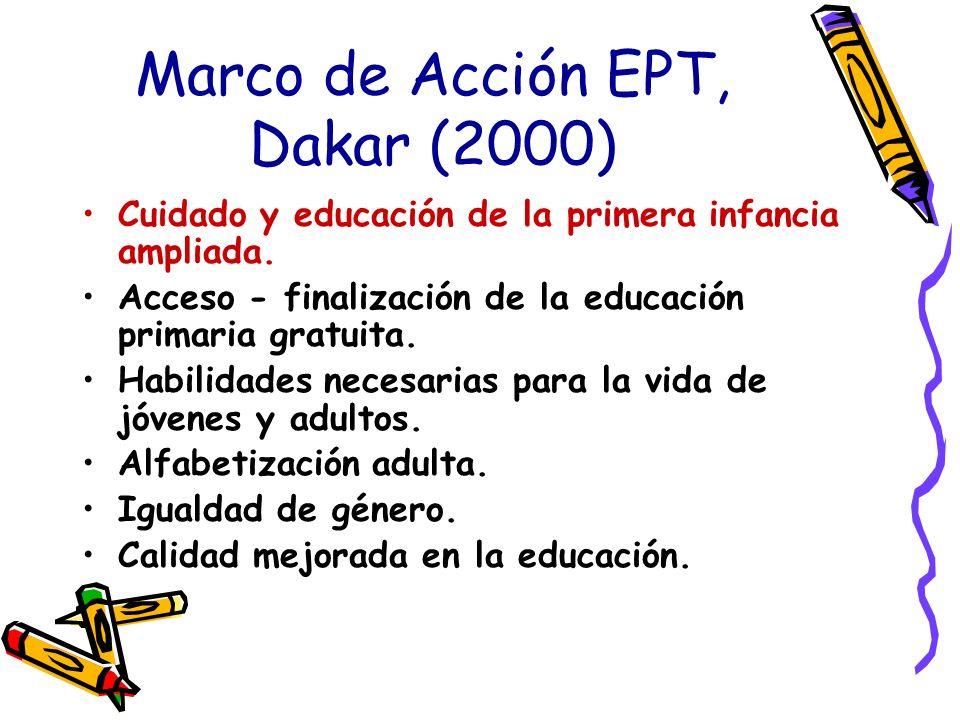 Marco de Acción EPT, Dakar (2000)