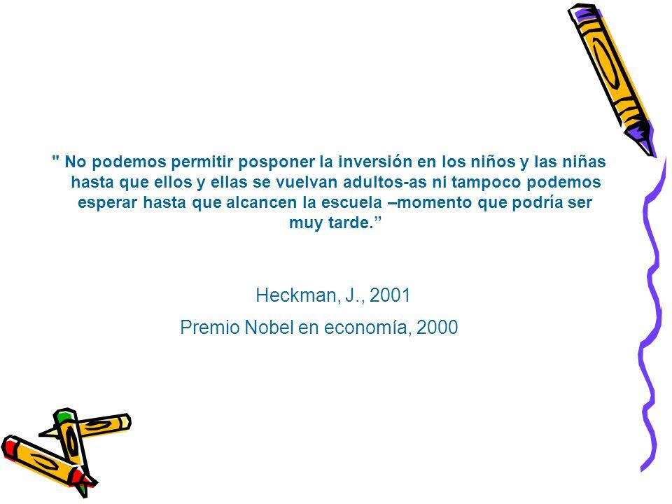 Premio Nobel en economía, 2000