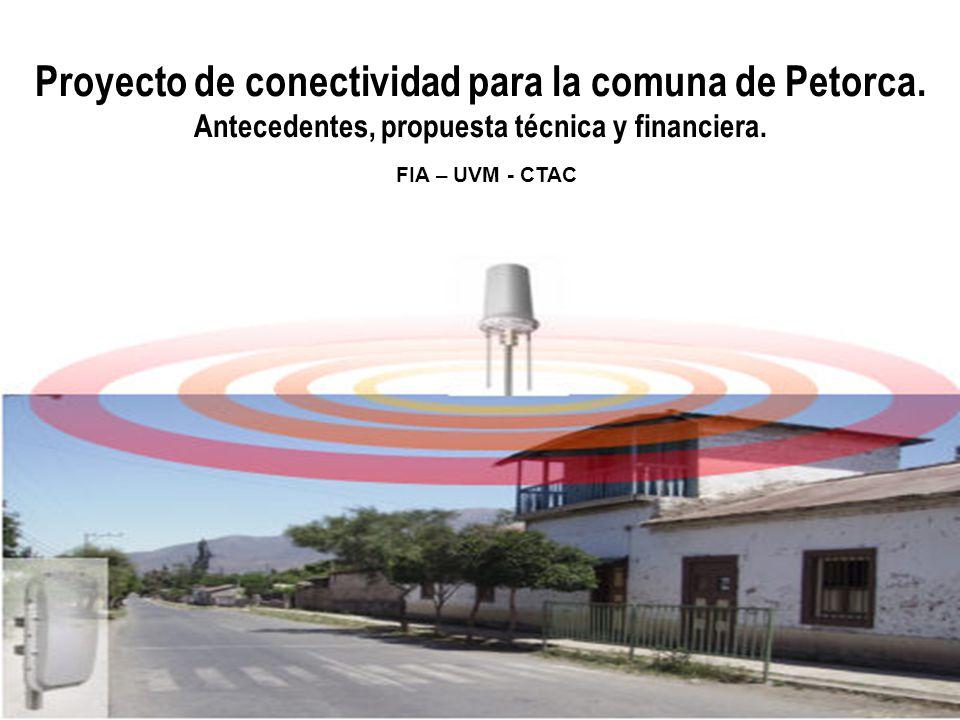 Proyecto de conectividad para la comuna de Petorca.