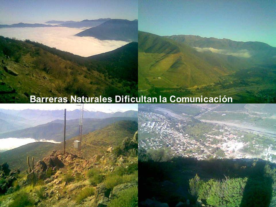 Barreras Naturales Dificultan la Comunicación