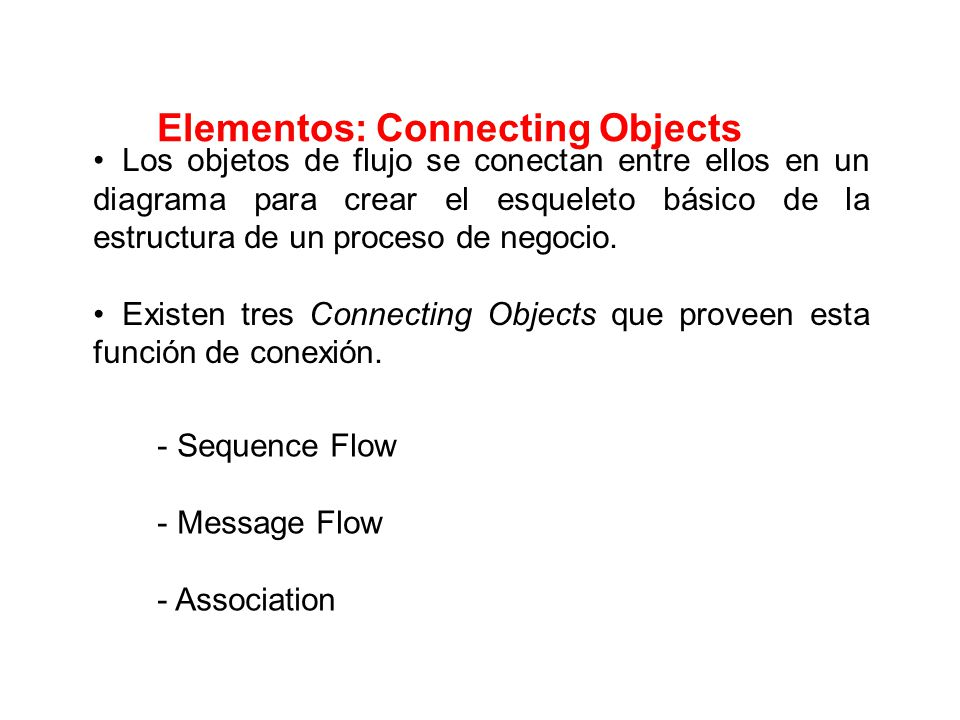 Elementos: Connecting Objects