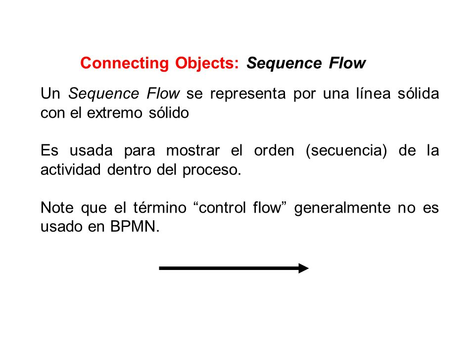 Connecting Objects: Sequence Flow