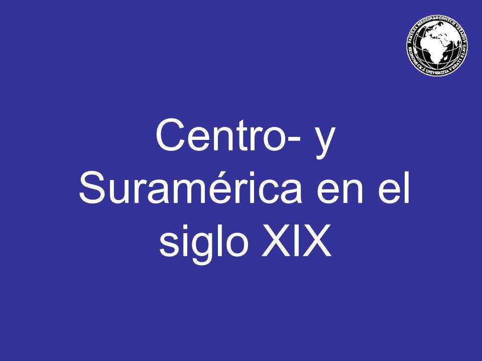 Centro- y Suramérica en el siglo XIX
