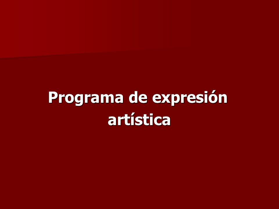 Programa de expresión artística