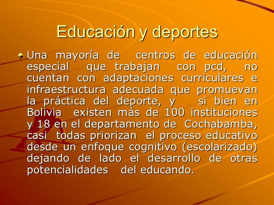 Educación y deportes