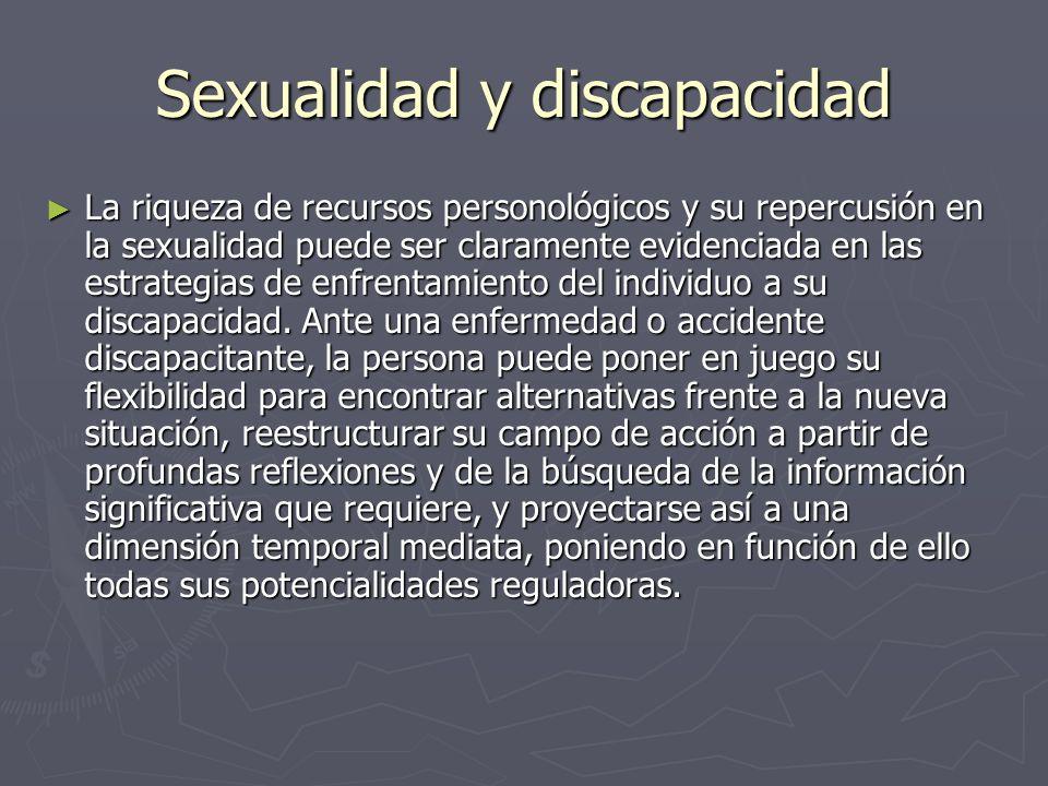 Sexualidad y discapacidad