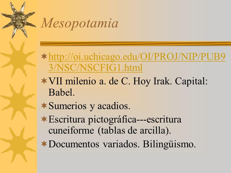 Mesopotamia http://oi.uchicago.edu/OI/PROJ/NIP/PUB93/NSC/NSCFIG1.html