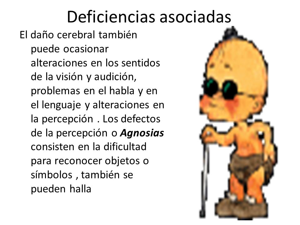 Deficiencias asociadas