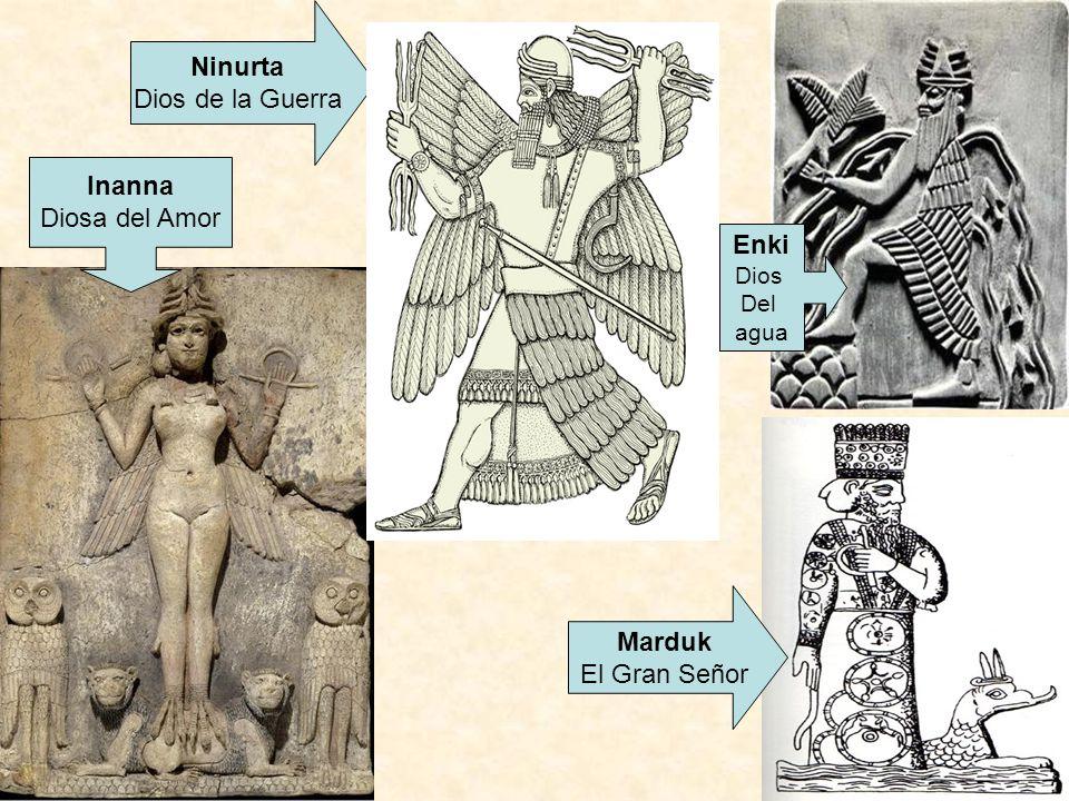 Ninurta Inanna Enki Marduk