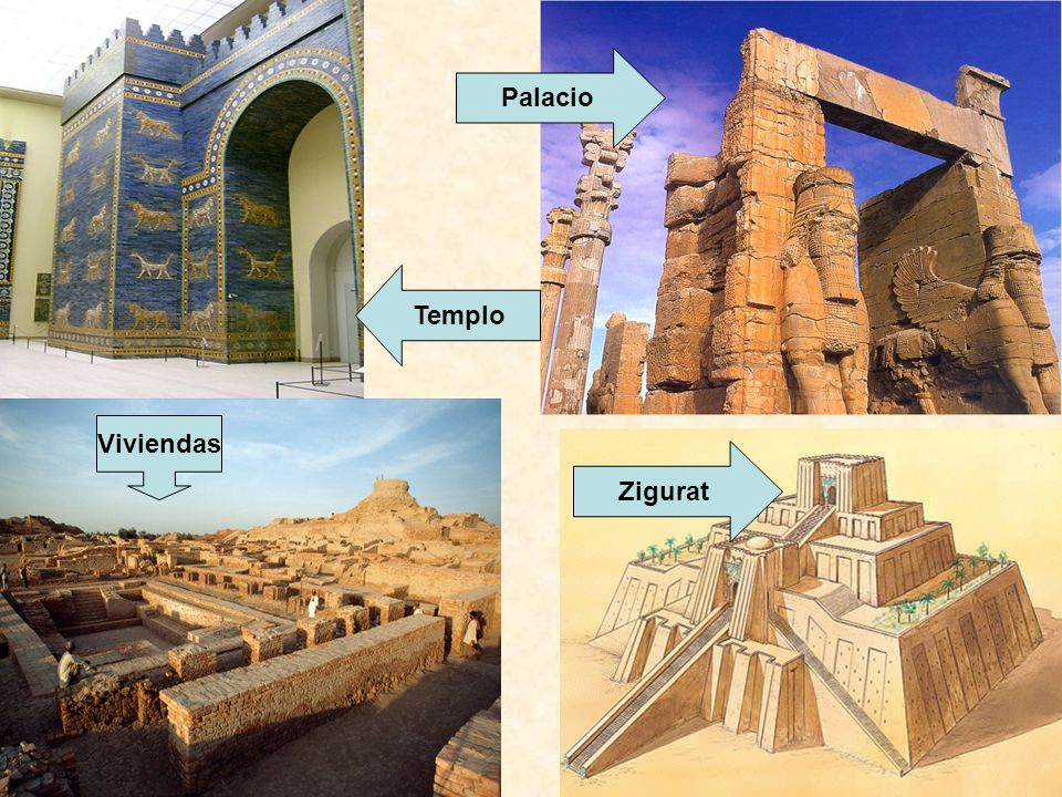 Palacio Templo Viviendas Zigurat