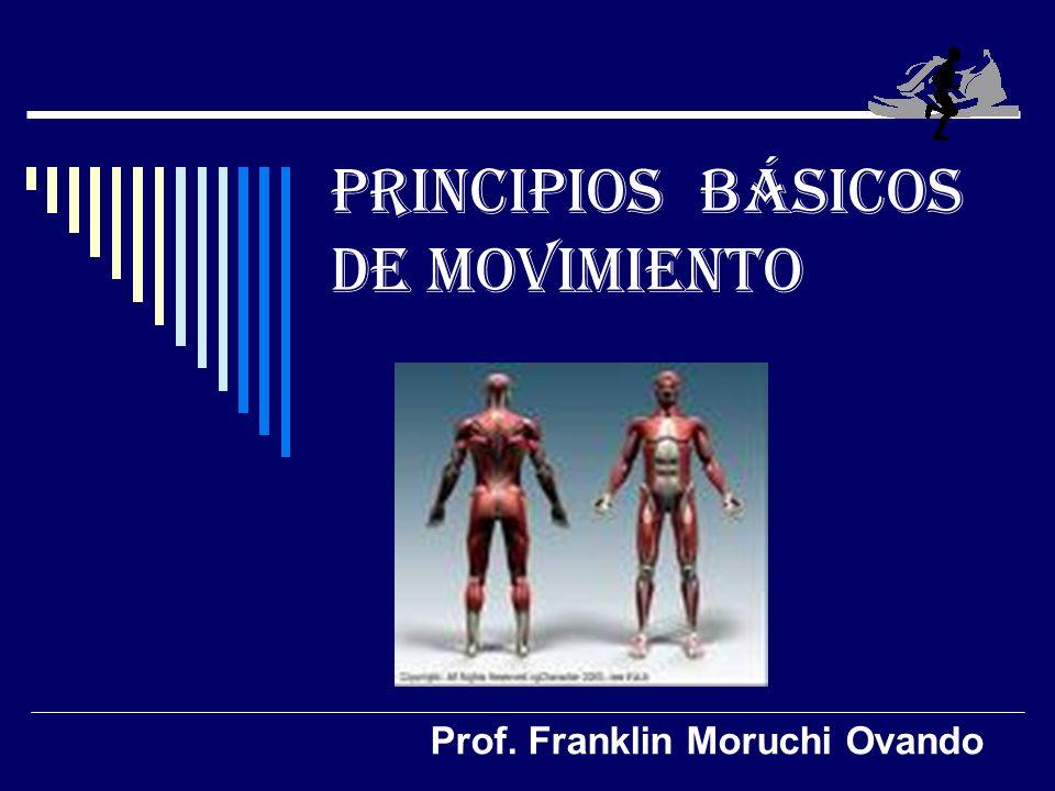 PRINCIPIOS BÁSICOS DE MOVIMIENTO