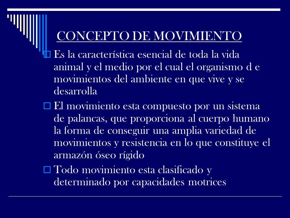 CONCEPTO DE MOVIMIENTO