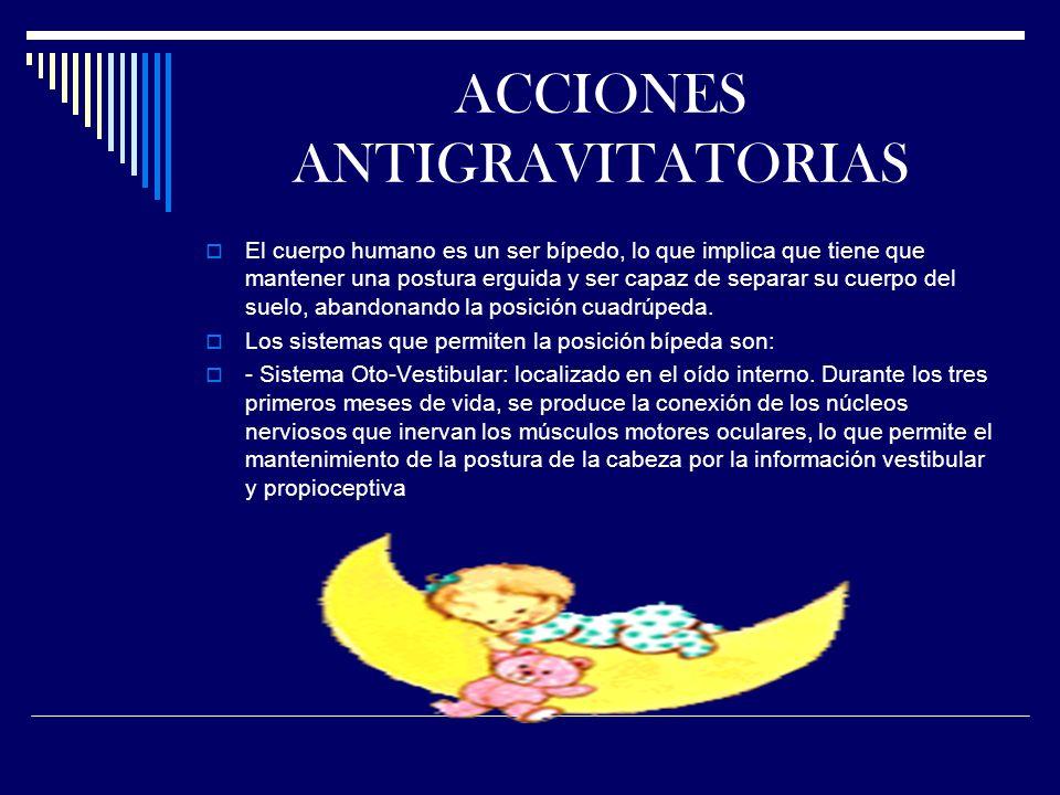 ACCIONES ANTIGRAVITATORIAS