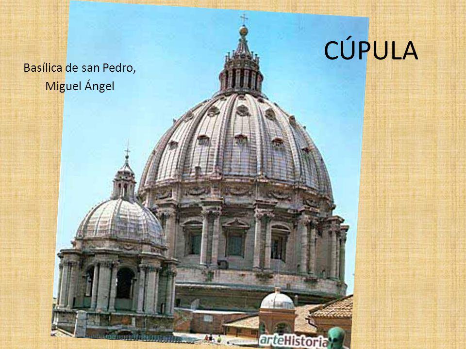 Basílica de san Pedro, Miguel Ángel