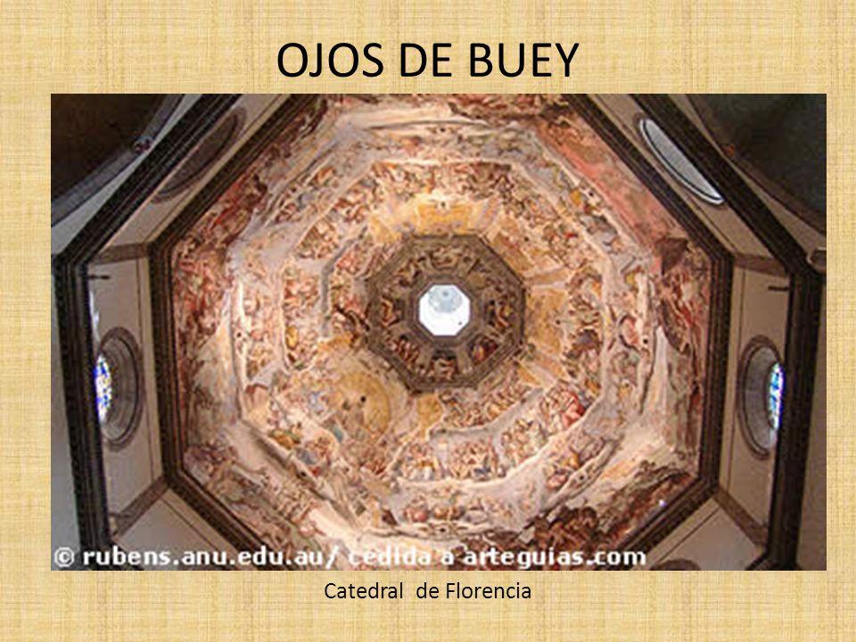 OJOS DE BUEY Catedral de Florencia