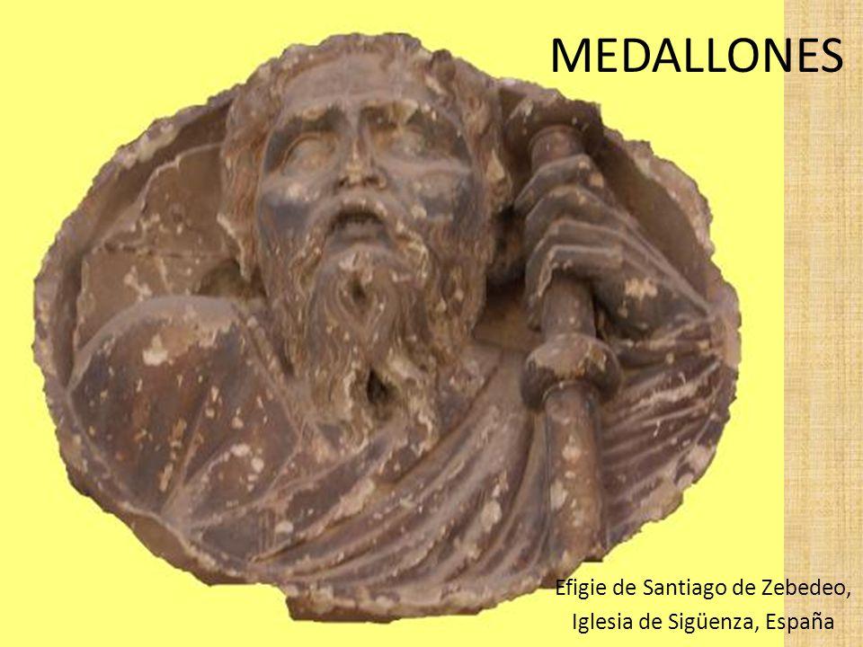 Efigie de Santiago de Zebedeo, Iglesia de Sigüenza, España