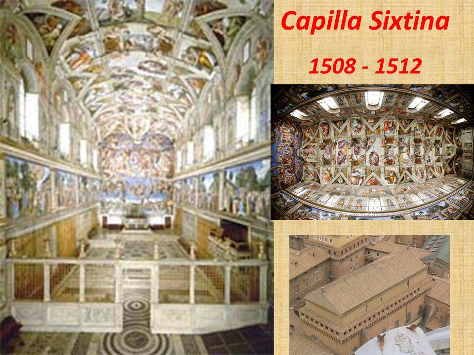 Capilla Sixtina 1508 - 1512