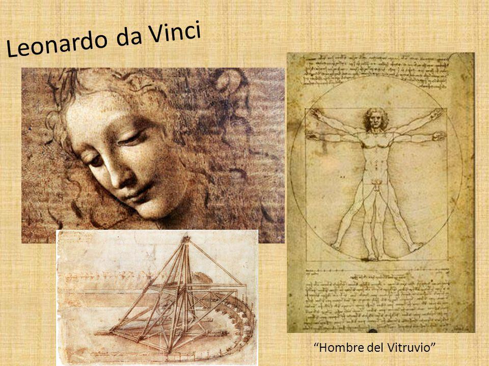 Leonardo da Vinci Hombre del Vitruvio