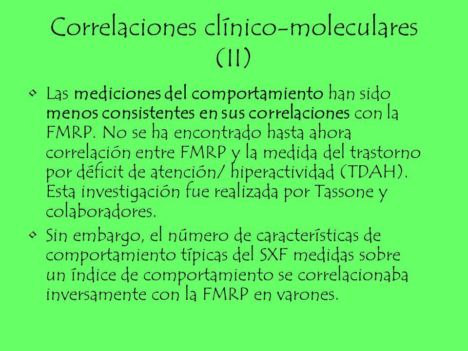 Correlaciones clínico-moleculares (II)
