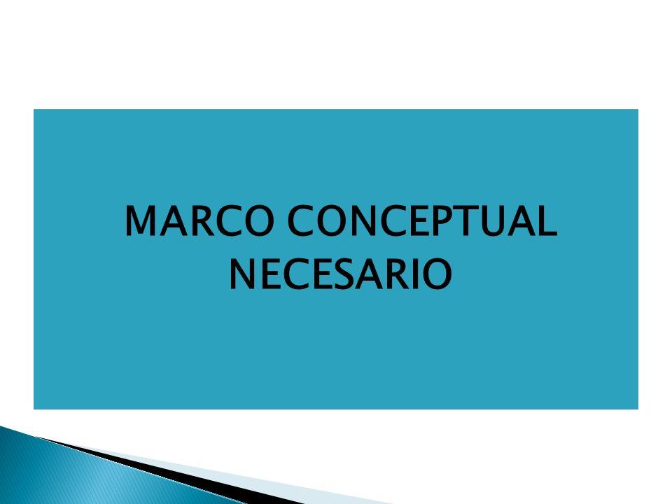 MARCO CONCEPTUAL NECESARIO