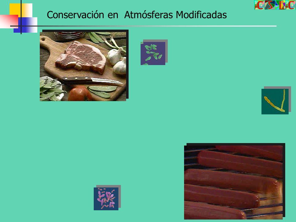 Conservación en Atmósferas Modificadas