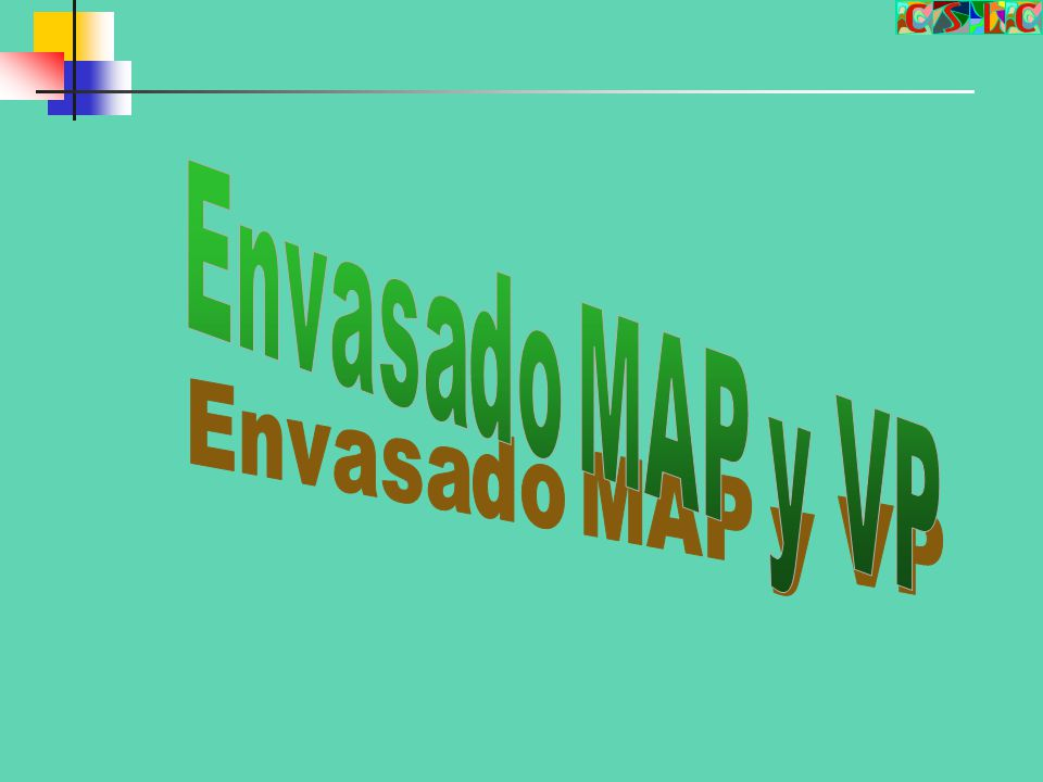 Envasado MAP y VP