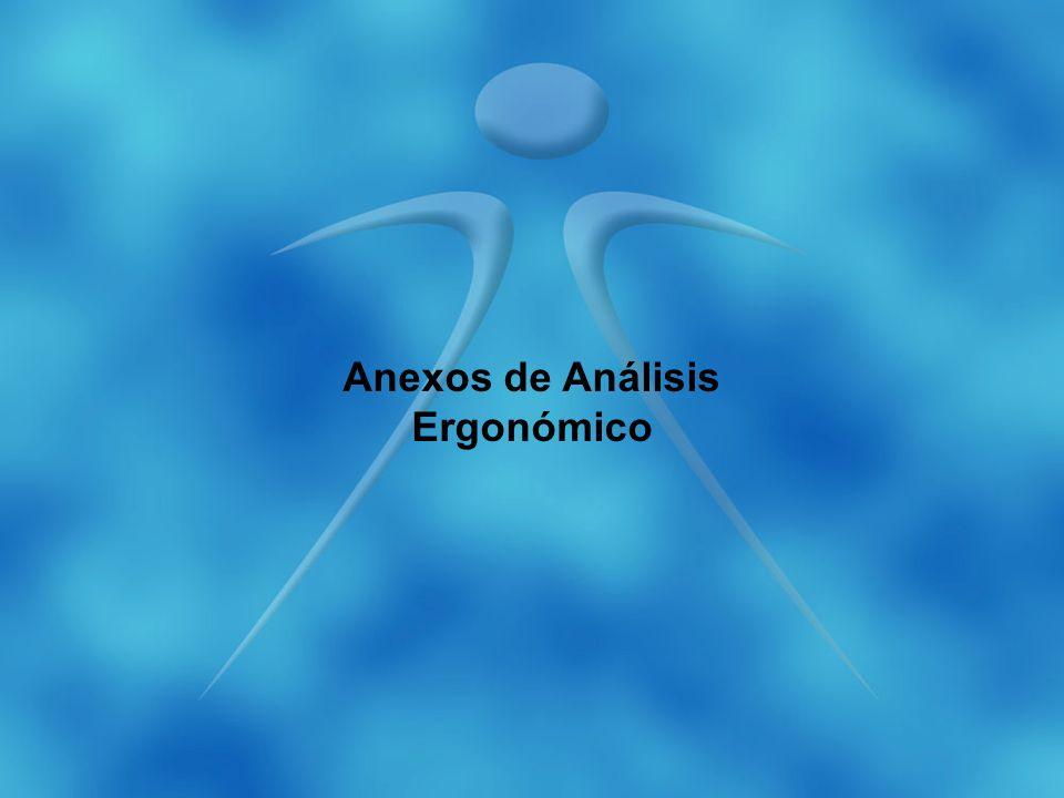 Anexos de Análisis Ergonómico
