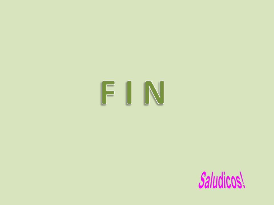 F I N Saludicos!