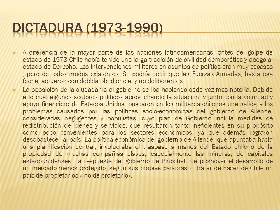 DICTADURA (1973-1990)