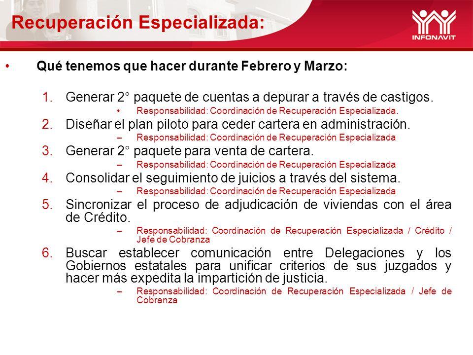 Recuperación Especializada: