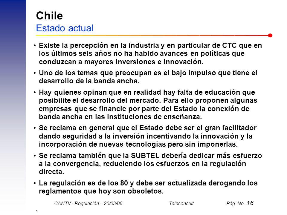 Chile Estado actual