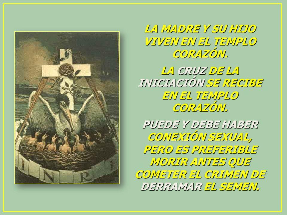 LA MADRE Y SU HIJO VIVEN EN EL TEMPLO CORAZÓN.