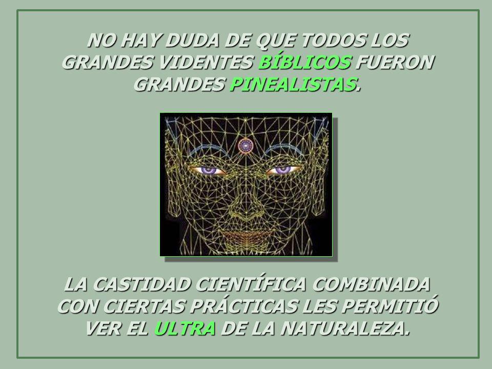 NO HAY DUDA DE QUE TODOS LOS GRANDES VIDENTES BÍBLICOS FUERON GRANDES PINEALISTAS.