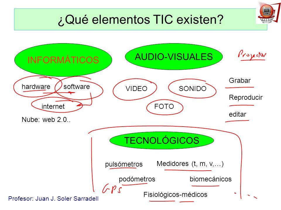 ¿Qué elementos TIC existen