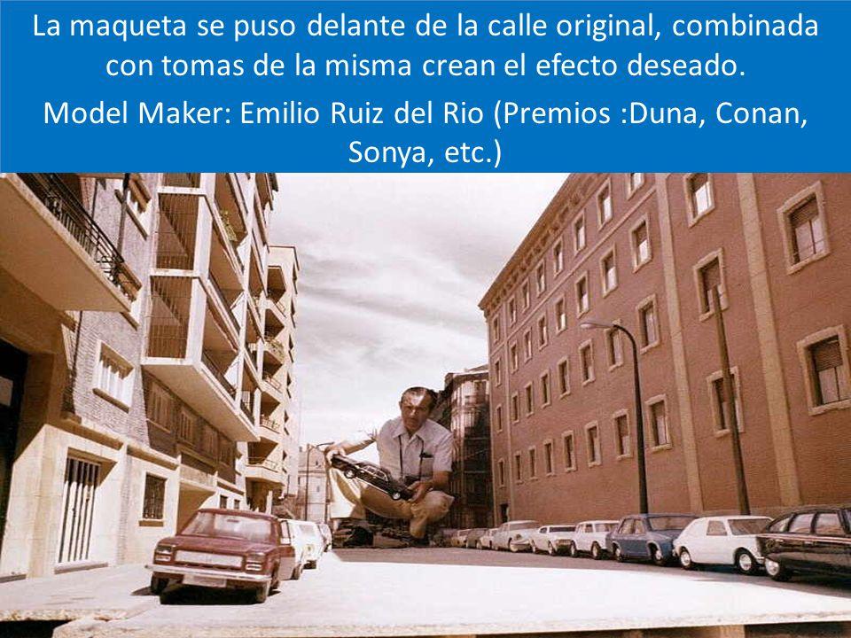 Model Maker: Emilio Ruiz del Rio (Premios :Duna, Conan, Sonya, etc.)